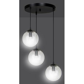 COSMO 3 BL TRANSPARENT PREMIUM 711/3PREM lampa wisząca klosze kule nowoczesna