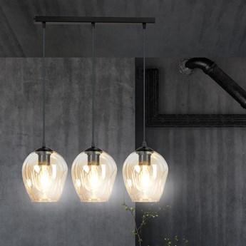 ISTAR 3 BL MIODOWA 677/3 lampa wisząca żyrandol nowoczesny klosze NOWOŚĆ
