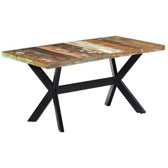 Industrialny stół z drewna odzyskanego – Kalis 4X