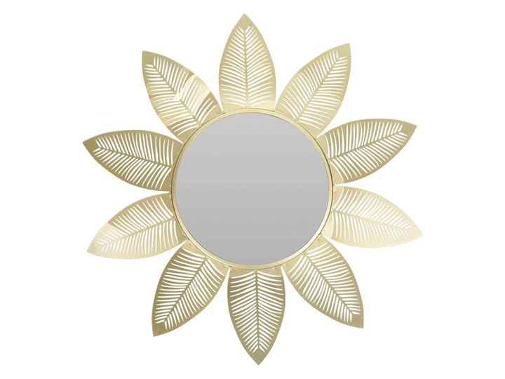 Glamour lustro Evelie - złote