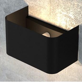 MANZ BLACK 742/1 kinkiet na ścianę czarny oryginalny design LED