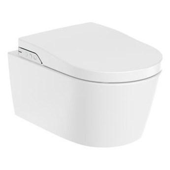 Roca Inspira In-Wash miska WC wisząca Rimless z deską myjącą A803060001