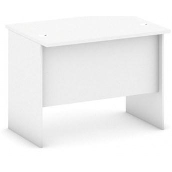 Biurko proste, długość 1000 mm, biały