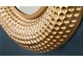 Lustro Orient Ø60 cm złote Ścienne Lustro z ramą Okrągłe Kategoria Lustra