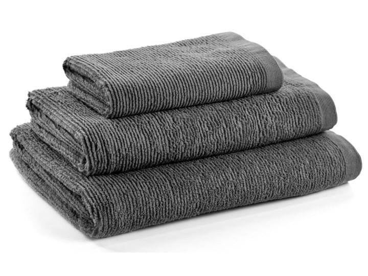 Ręcznik łazienkowy Miekki 100x50 cm ciemnoszary Bawełna Ręcznik kąpielowy 50x100 cm 40x70 cm Komplet ręczników Kategoria Ręczniki