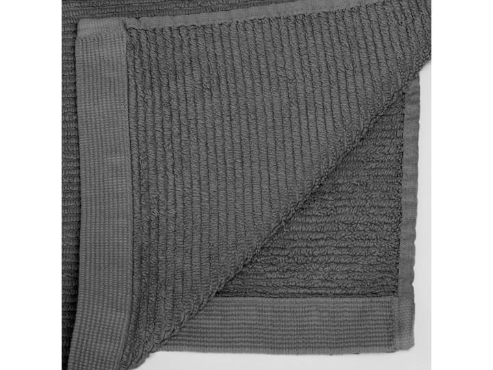 Ręcznik łazienkowy Miekki 100x50 cm ciemnoszary 50x100 cm Bawełna Komplet ręczników Ręcznik kąpielowy 40x70 cm Kategoria Ręczniki