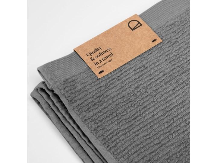 Ręcznik łazienkowy Miekki 100x50 cm ciemnoszary Ręcznik kąpielowy Bawełna 40x70 cm 50x100 cm Komplet ręczników Kategoria Ręczniki