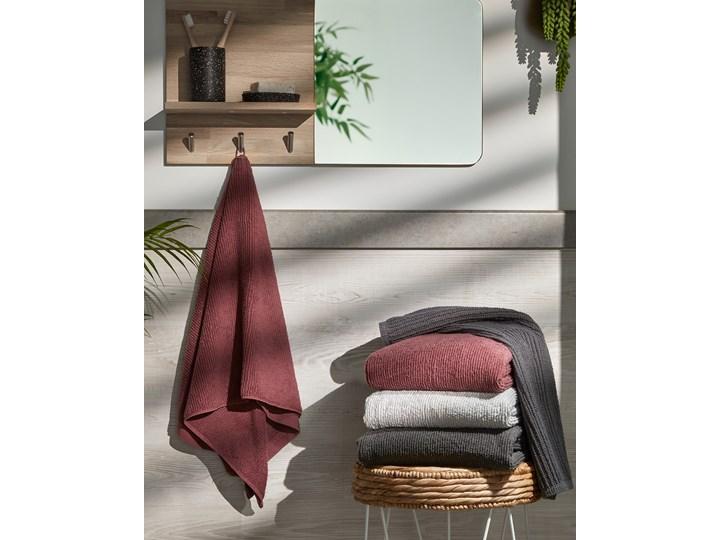 Ręcznik łazienkowy Miekki 100x50 cm ciemnoszary Bawełna 40x70 cm Komplet ręczników Ręcznik kąpielowy 50x100 cm Kategoria Ręczniki
