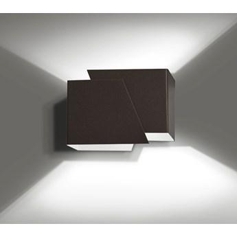 FROST WENGE 940/5 nowoczesny kinkiet ścienny brązowy LED