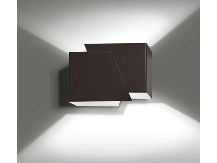FROST WENGE 940/5 nowoczesny kinkiet ścienny brązowy LED Kategoria Lampy ścienne  Kinkiet LED Drewno Metal Kolor Czarny