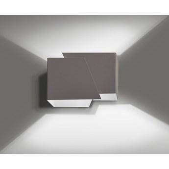 FROST GRAY 940/4 nowoczesny kinkiet ścienny szary LED
