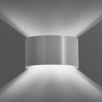 FOLD GRAY 950/3 kinkiet na ścianę półokrągły szary ciekawy efekt świetlny