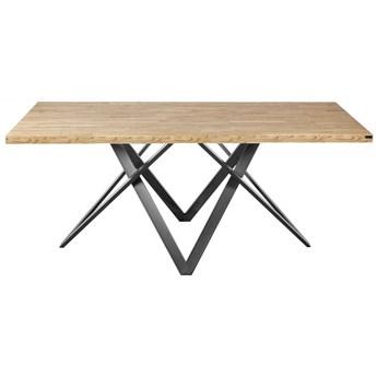Stół Gonzalo drewniany metalowy w stylu loft na wymiar