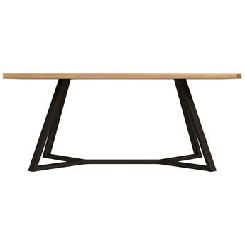 Stół loftowy LEONARDO 140x80 drewniany metalowy na wymiar