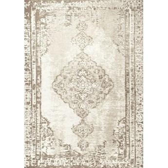 Dywan ALTAY CREAM łatwy w czyszczeniu tkany na krosnach tkaninowych