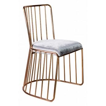 Krzesło Lilly silver