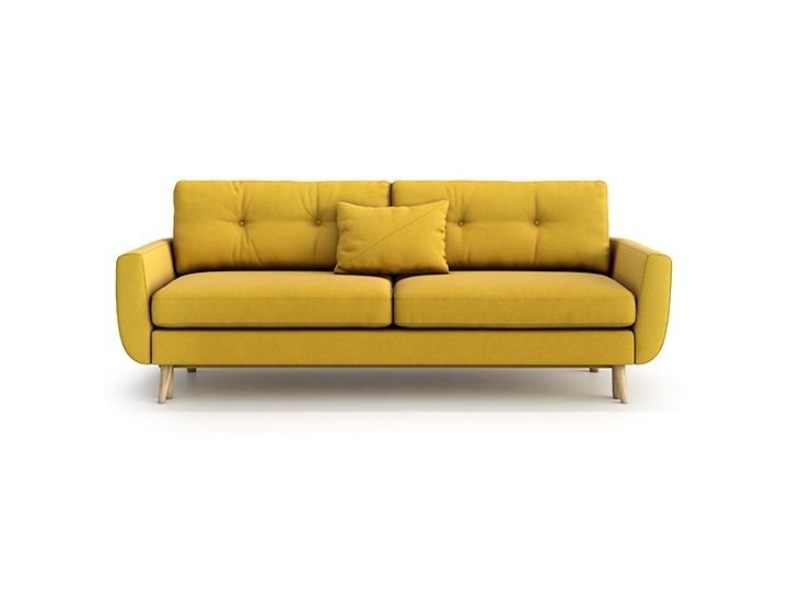 Sofa Harris z funkcją spania, Canary Stała konstrukcja Szerokość 231 cm Głębokość 92 cm Boki Z bokami