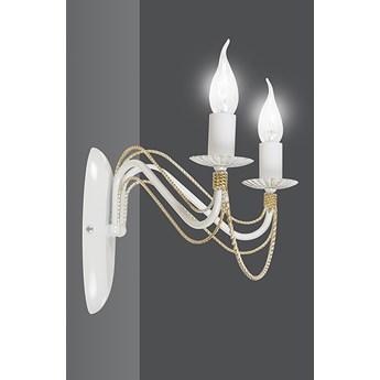 TORI K2 WHITE 171/K2 klasyczny kinkiet świecznikowy biały