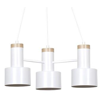 ASTRO 3 WHITE 694/3  lampa wisząca regulowana LOFT skandynawska drewno