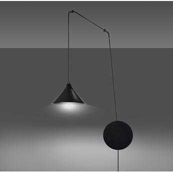 ABRAMO 1 BLACK 160/1 lampa sufitowa wisząca regulowana najnowszy design czarna loft