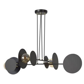 IDEA 4 BLACK 792/4 lampa wisząca loft regulowana oryginalny design czarna