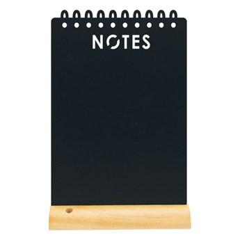 """Tablica kredowa z drewnianą podstawką """"notes"""""""