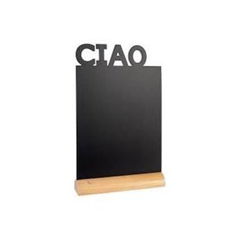 Tabliczka kredowa CIAO z drewnianą podstawką