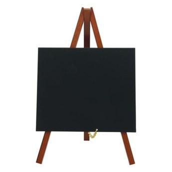 Sztalugowa tabliczka kredowa w wersji mini (kolor ciemnego drewna)