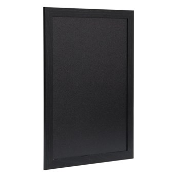 Tablica kredowa w czarnej ramie 40x30x1cm