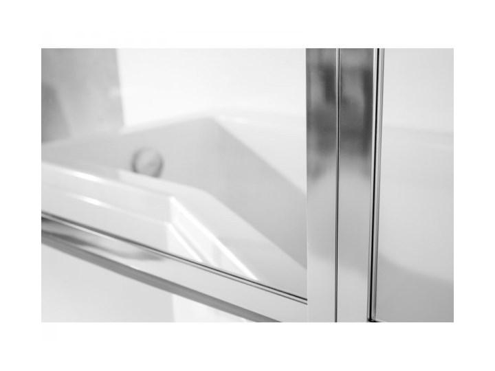 Besco Integra kabino-wanna 150x75 cm prawa z parawanem 2-skrzydłowym WAI-150-PP2 Akryl Kategoria Wanny Kolor Srebrny