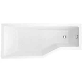 Besco Integra wanna asymetryczna 170x75 cm lewa biała WAI-170-PL
