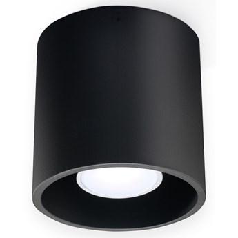 SOLLUX Lampa Sufitowa Downlight Orbis Czarna LED! Plafon na Sufit Minimalistyczny