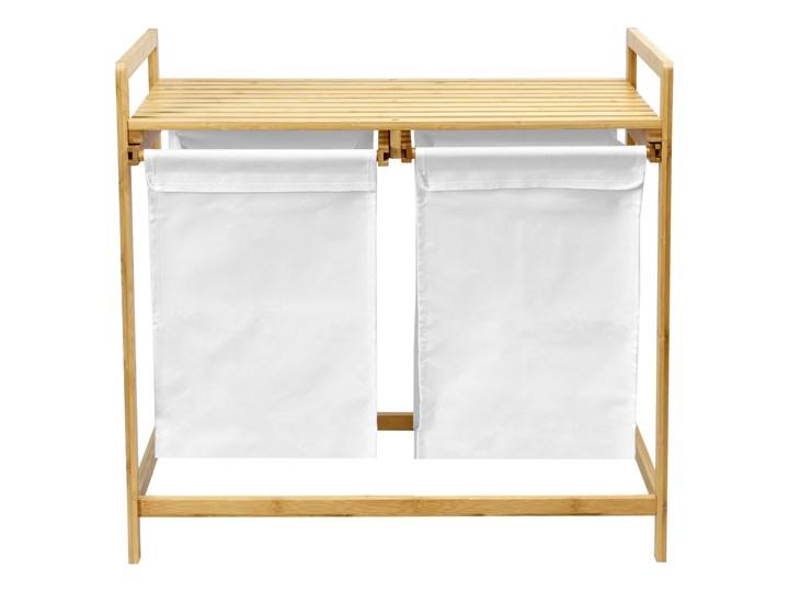 kosz na pranie bambusowy HANOI podwójny Drewno Kategoria