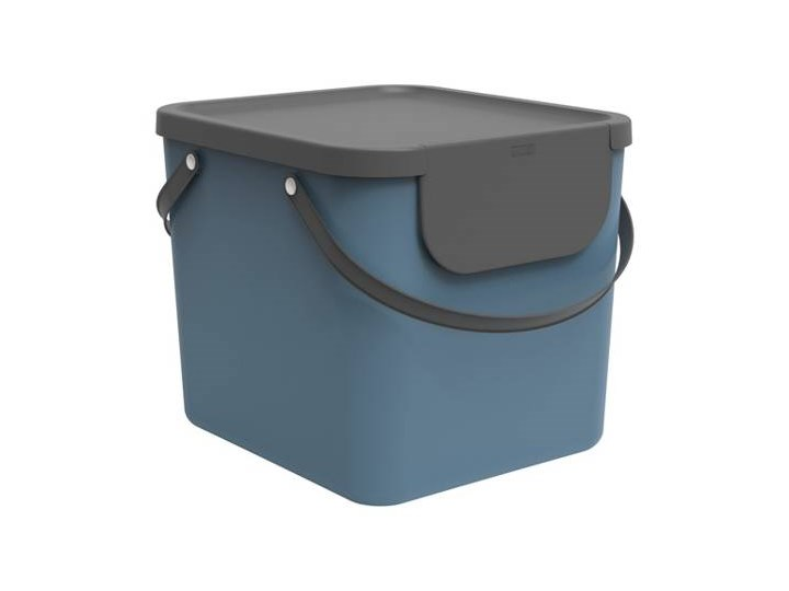 Kosz do segregacji Rotho Albula 40L niebieski