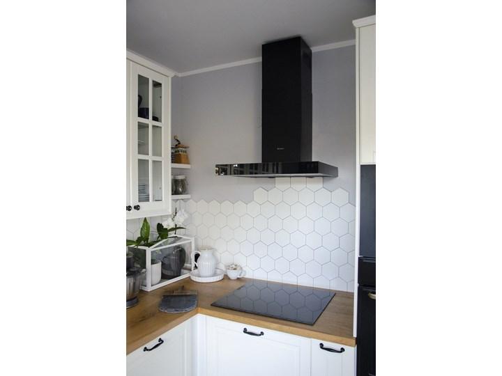 Okap kuchenny VERTA 60.1 BLACK Okap przyścienny Szerokość 60 cm Poziom hałasu 63 dB