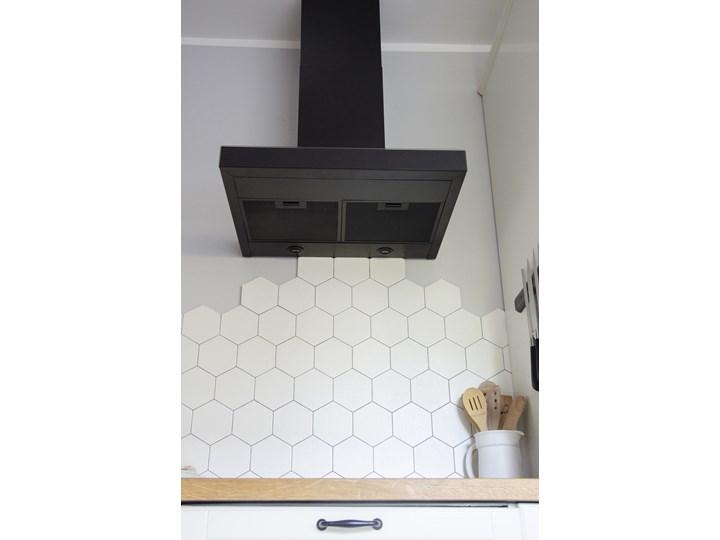Okap kuchenny VERTA 60.1 BLACK Okap przyścienny Sterowanie Elektroniczne Szerokość 60 cm Poziom hałasu 56 dB