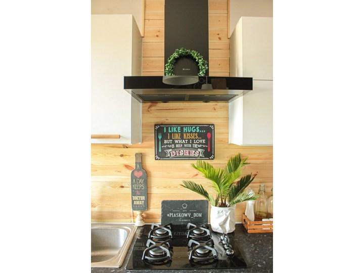 Okap kuchenny VERTA 60.1 BLACK Okap przyścienny Szerokość 60 cm Kolor Czarny