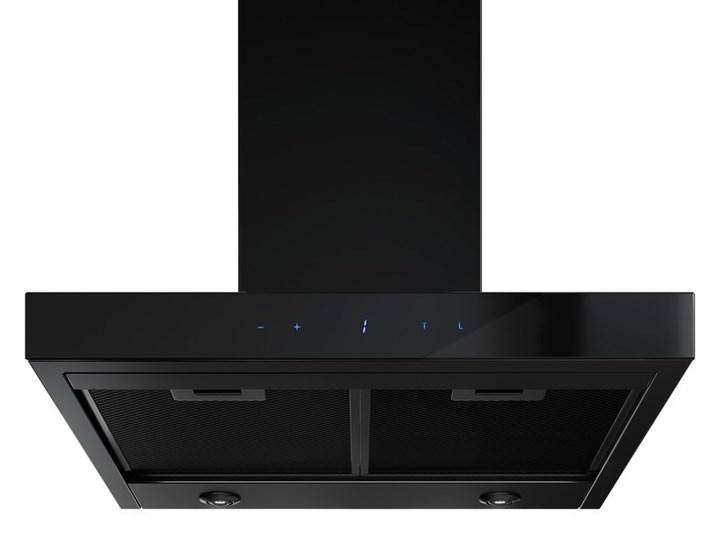 Okap kuchenny VERTA 60.1 BLACK Szerokość 60 cm Okap przyścienny Poziom hałasu 56 dB Poziom hałasu 63 dB