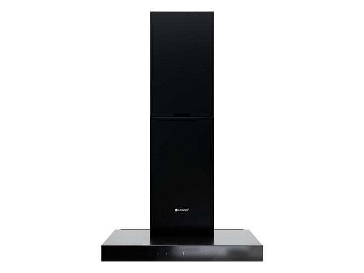 Okap kuchenny VERTA 60.1 BLACK Okap przyścienny Szerokość 60 cm Poziom hałasu 43 dB Poziom hałasu 63 dB