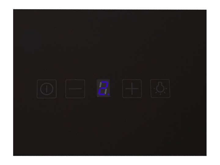 Okap kuchenny Lagardio 90.3 Black Okap przyścienny Szerokość 90 cm Poziom hałasu 63 dB