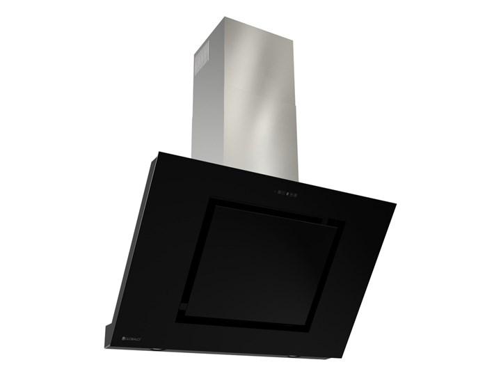 Okap kuchenny Lagardio 90.3 Black Szerokość 90 cm Okap przyścienny Poziom hałasu 63 dB