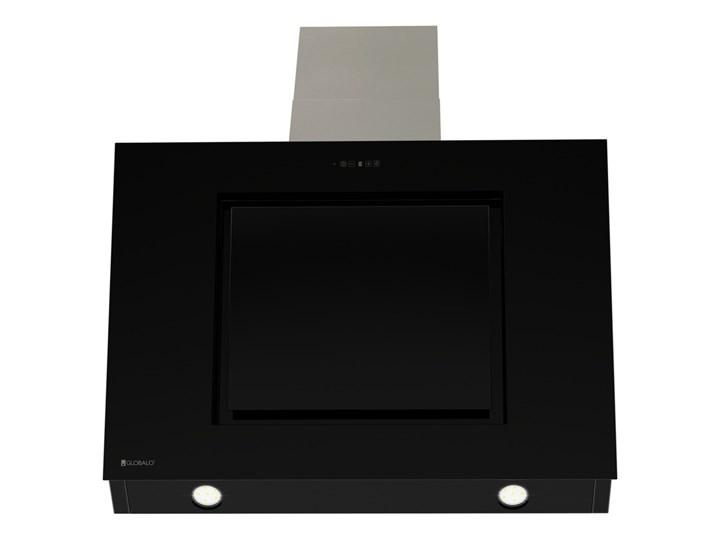 Okap kuchenny Lagardio 90.3 Black Okap przyścienny Kolor Czarny Szerokość 90 cm Poziom hałasu 69 dB