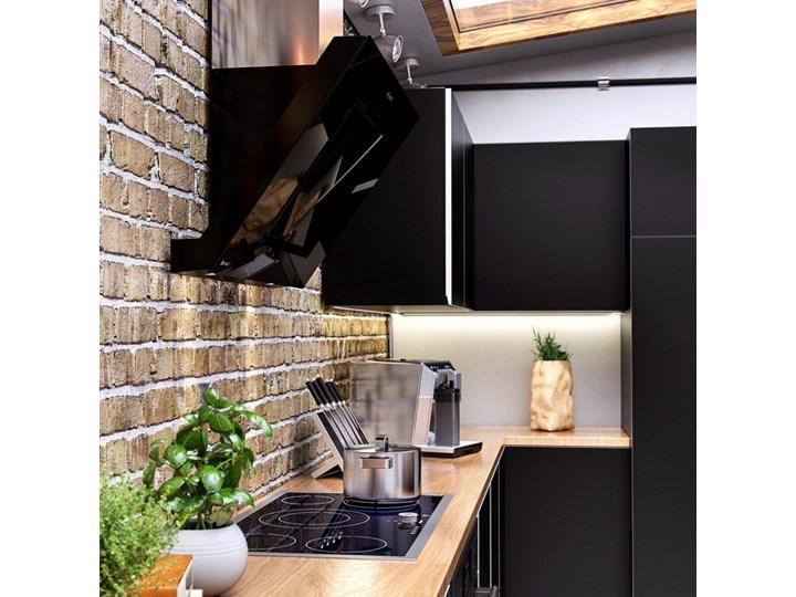 Okap kuchenny Lagardio 90.3 Black Szerokość 90 cm Okap przyścienny Kolor Czarny