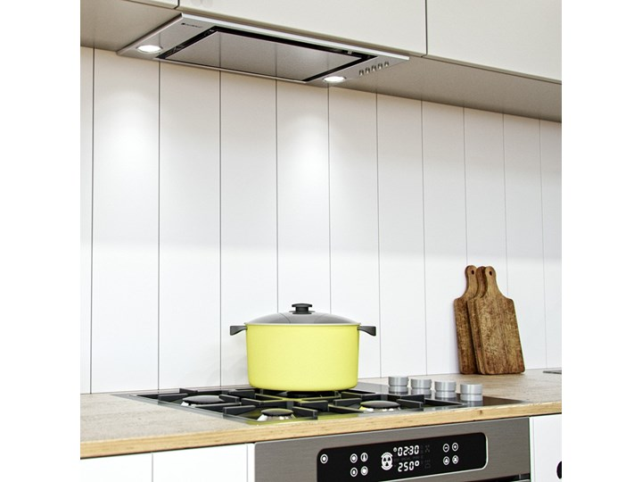 Okap kuchenny Insolita 60.1 Inox Szerokość 60 cm Okap do zabudowy Poziom hałasu 46 dB Poziom hałasu 61 dB