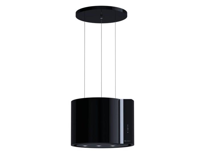 Okap kuchenny Serina 60.4 Black Szerokość 60 cm Okap wyspowy Sterowanie Elektroniczne