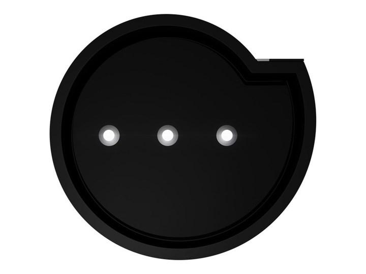 Okap kuchenny Serina 60.4 Black Sterowanie Elektroniczne Okap wyspowy Szerokość 60 cm Kolor Czarny