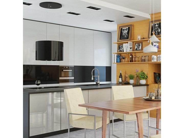 Okap kuchenny Serina 60.4 Black Okap wyspowy Szerokość 60 cm Poziom hałasu 64 dB