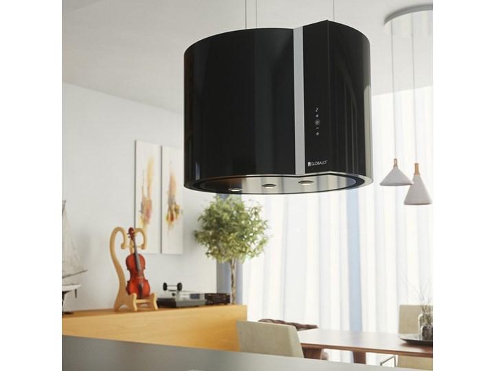 Okap kuchenny Serina 60.4 Black Okap wyspowy Szerokość 60 cm Kolor Czarny Sterowanie Elektroniczne