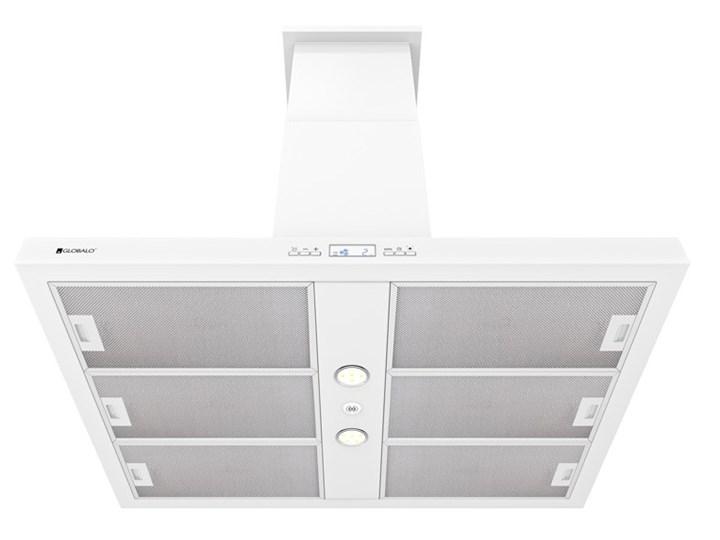Okap kuchenny Nomina Isola 90.4 Sensor White Okap wyspowy Poziom hałasu 70 dB Szerokość 90 cm Poziom hałasu 50 dB