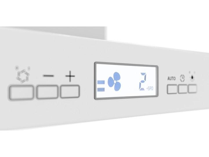 Okap kuchenny Nomina Isola 90.4 Sensor White Okap wyspowy Szerokość 90 cm Poziom hałasu 64 dB